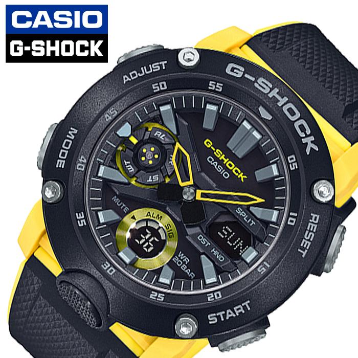 [当日出荷] カシオ 腕時計 CASIO 時計 ジーショック G-SHOCK メンズ ブラック GA-2000-1A9JF [ 正規品 防水 アナデジ Gショック アラーム カレンダー ワールドタイム カジュアル カーボン 強い 軽い 耐久性 プレゼント ギフト ]