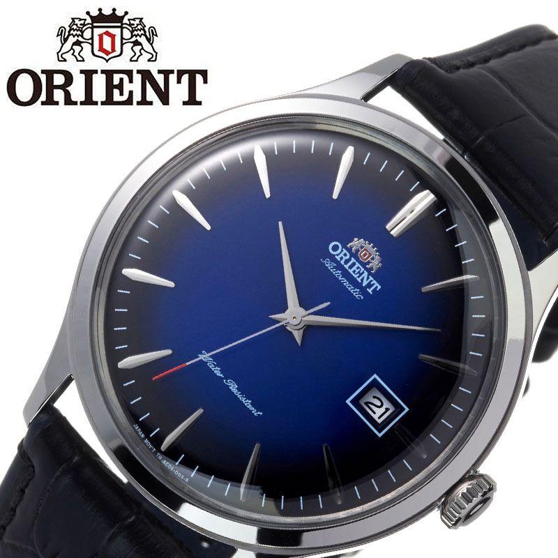 [2,365円引き][当日出荷] オリエント 腕時計 ORIENT 時計 バンビーノ クラシック BAMBINO CLASSIC メンズ ブルー ORW-FAC08004D0 [ ブランド 人気 海外モデル 防水 レトロ アンティーク 調 オートマチック 自動巻き 自動巻 機械式 レザー ベルト 革 誕生日 ]