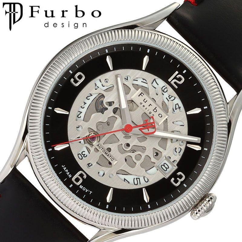 Furbodesign 腕時計 フルボデザイン 時計 カモフラージュ CAMOFLAGE メンズ ブラック F8204SBKBK [ 人気 ブランド おすすめ おしゃれ ブラック 革ベルト 大人 ノスタルジック ゴールド カレンダー ビジネス オフィス カジュアル イタリア シンプル ルビー ワンポイント]