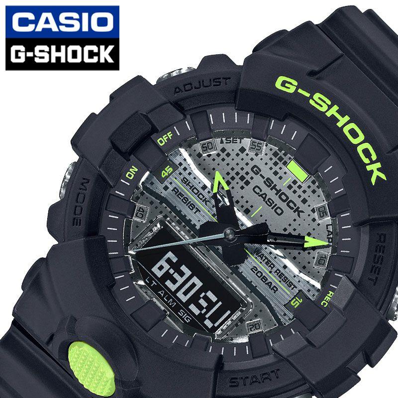 [当日出荷] Gショック G-SHOCK メンズ 腕時計 ブラック Black and Yellow Series GA-800DC-1AJF [ おすすめ 人気 おしゃれ かっこいい イエロー メタリック デジタル カモフラージュ カジュアル スポーツ アウトドア ギフト プレゼント ]