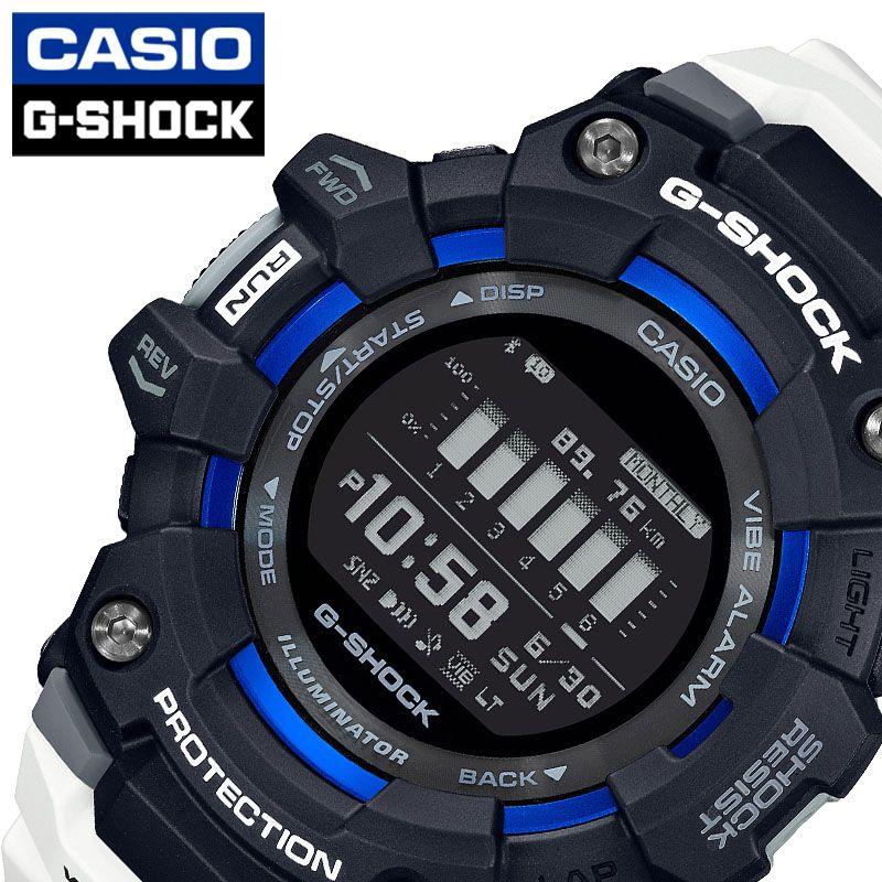 [当日出荷] Gショック ジー・スクワッド G-SHOCK G-SQUAD メンズ 腕時計 液晶/ブラック GBD-100-1A7JF [ おすすめ 人気 おしゃれ かっこいい ホワイト ランニング トレーニング カジュアル スポーツ アウトドア ギフト プレゼント ]