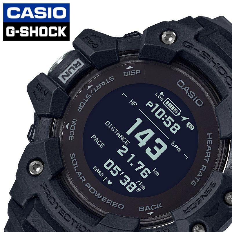 [当日出荷] Gショック ジー・スクワッド G-SHOCK G-SQUAD メンズ 腕時計 液晶 GBD-H1000-1JR [ おすすめ 人気 おしゃれ かっこいい ソーラー GPS 衛星電波 心拍数 ブラック トレーニング カジュアル スポーツ アウトドア ギフト プレゼント ]