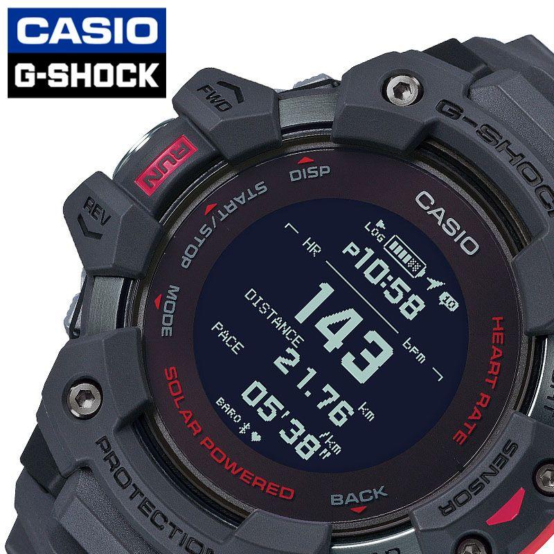 [当日出荷] Gショック ジー・スクワッド G-SHOCK G-SQUAD メンズ 腕時計 液晶 GBD-H1000-8JR [ おすすめ 人気 おしゃれ かっこいい ソーラー GPS 衛星電波 心拍数 ブラック トレーニング カジュアル スポーツ アウトドア ギフト プレゼント ]