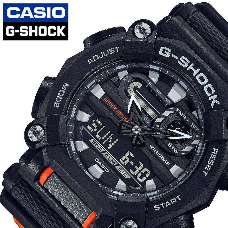 [当日出荷] Gショック 腕時計 G-SHOCK 時計 メンズ ブラック GA-900C-1A4JF [ 人気 ブランド 防水 頑丈 タフ クロスバンド ショックレジスト 男性 彼氏 高校生 大学生 大人 ランニング 運動 ビッグフェイス 大きめ ファッション プレゼント ギフト ]