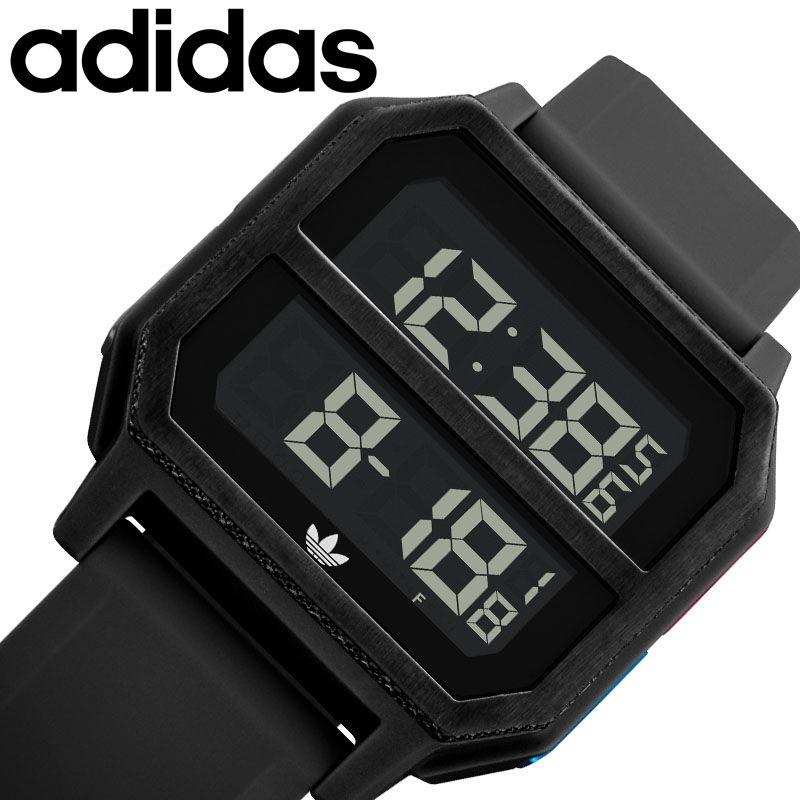 [当日出荷] adidas originals 腕時計 アディダスオリジナルス 時計 アーカイブ ARCHIVE メンズ レディース ブラック Z16-3042-00 [ 人気 ブランド おすすめ おしゃれ ブラック メタル 防水 スポーツ カジュアル 運動 ランニング ファッション 誕生日 プレゼント ギフト ]