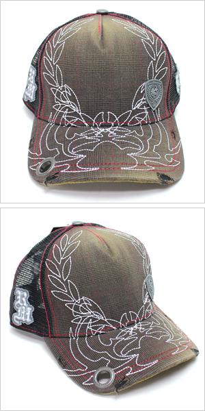 红猴子盖子[REDMONKEY](RED MONKEY盖子红猴子帽子)盖子GREAT-CESAR[帽子盖子棒球帽网丝盖子糖果舵设计损伤名牌大的尺寸人]