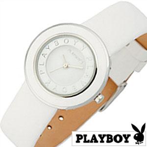 [当日出荷] プレイボーイ 腕時計 PLAYBOY 時計 レディース ホワイト PBH0442WH [ レディース腕時計 腕時計レディース うさぎ レザー 革 アクセサリー かわいい おしゃれ 中学生 高校生 娘 姪 ] [ プレゼント ギフト 新生活 ]