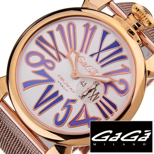 ガガミラノ 腕時計 GaGa MILANO 時計 スリム [ SLIM ] 46MM プラカットオロ [ PLACCATO ORO ] メンズ レディース 5081.3 [ 人気 ]