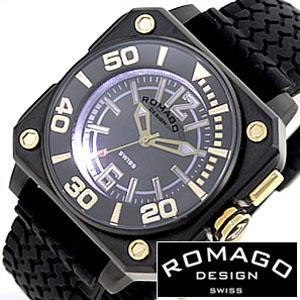 【延長保証対象】ロマゴデザイン 腕時計 ROMAGO DESIGN 時計 ロマゴ クール [ COOL ] メンズ レディース ディース RM018-0073PL-BK[ プレゼント ギフト 新春 2020 ]