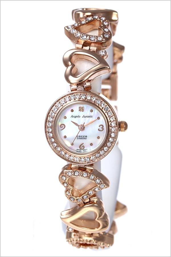 アンジェロジュリエッティ watch [AngeloJurietti]( Angelo Jurietti watch アンジェロジュリエッティ clock )/ Lady's clock AJ4041-PG