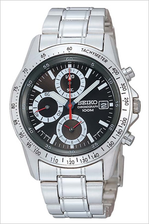 セイコー 腕時計 SEIKO 時計 クロノグラフ 海外モデル メンズ SND371PC [ プレゼント 人気 定番 生活 防水 ]