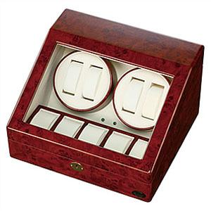 [当日出荷] ワインディングマシーン 自動巻き上げ機 Winding Machine 腕時計 ワインダー メンズ レディース 木製 1本 2本 4本 木製4連 [ 自動巻き 機械式 ] [ プレゼント ギフト 新生活 ]