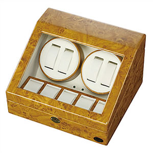 ワインディングマシーン 自動巻き上げ機 Winding Machine 腕時計 ワインダー メンズ レディース 木製 1本 2本 4本 木製4連 [ 自動巻き 機械式 ] [ プレゼント ギフト 新生活 ]