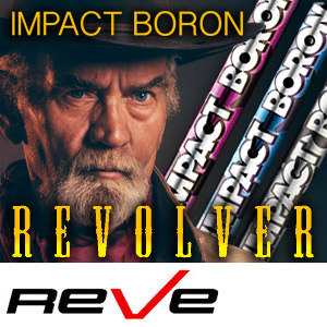 【Reve/レーヴ】IMPACT BORON REVOLVER インパクトボロン リボルバー シャフト(RR~X 45~46インチ)【10P07Nov15】