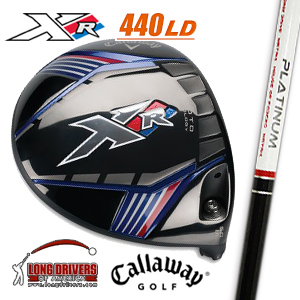 1 ■ Callaway (Callaway) XR LD driver 440 cc HOUSE OF FORGED company-2015 PLATINUM EDITION (Platinum Edition) shaft mounted