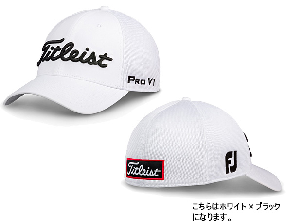 d3be8827ffc Titleist by NEW ERA TOUR SPORTS MESH CAP WHITE COLLECTION (TH8FTMW) Titleist  by new gills men golf article accessories cap hat white collection ...
