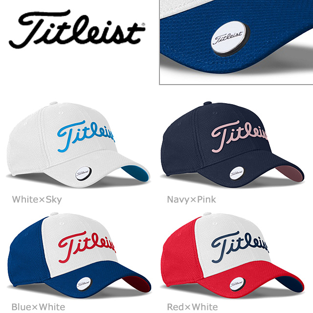 dadd1ac0f63 HTCGOLF  Cap with the Titleist Perf Ball Marker Cap Trend TH7APBMS ...