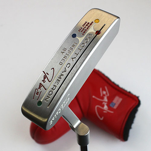 2 ■ Scotty Cameron 2003 limited Newport Beach Inspired by Davis Love III ( inspired by Davis love ) putter used products