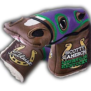 斯科蒂卡梅伦2014全美职业高尔夫球锦标赛/PGA Championship PGA英国产良种马脑袋覆盖物(推杆覆盖物)紧凑的清单斯科蒂卡梅伦推杆覆盖物