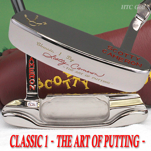 Scotty Cameron Classic 1 The Art of Putting black pearl finish 35 in Chipata