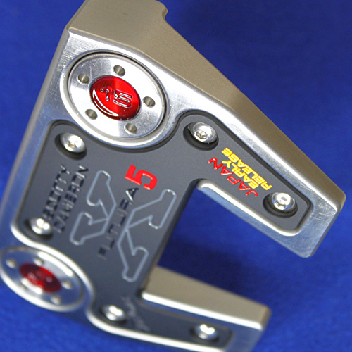 2 ■ Scotty Cameron Futura X5 Japan early release 34-inch putter, Titleist Scotty Cameron putters