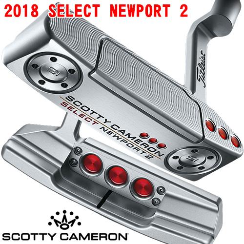 Scottie Cameron 2018 select Newport 2 SELECT NEWPORT 2 putter / Titleist  Scottie Cameron putter
