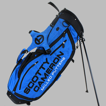 Titleist Scotty Cameron stand bag 2016 interarticularis circle T - Turbo blue / Titleist Scotty Cameron golf bag