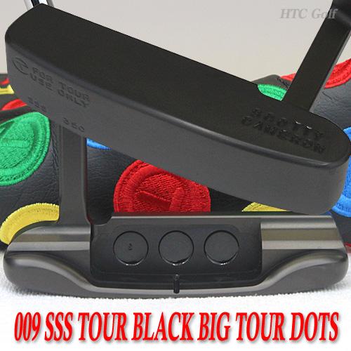 斯科蒂卡梅隆 009 SSS 黑色旅游旅游点 350 G 34 英寸旅游推杆