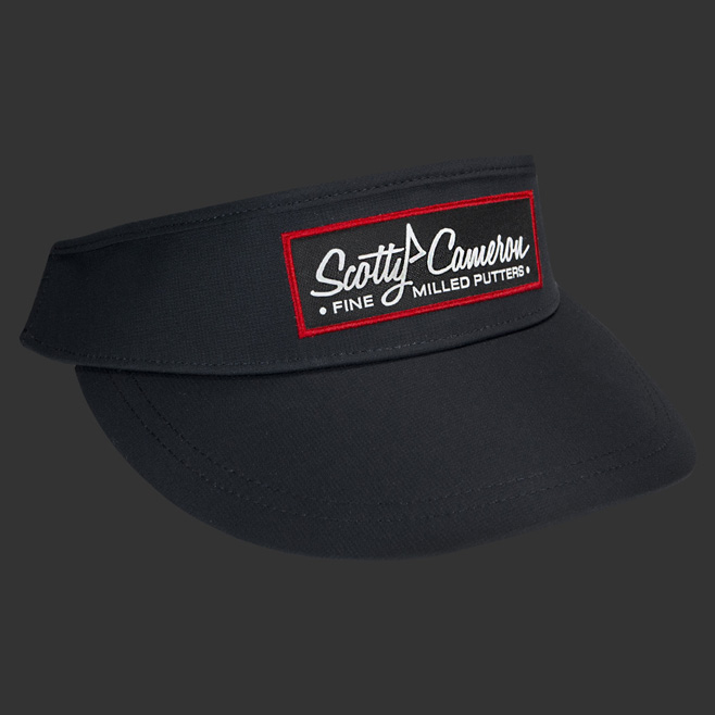 66609d014b9 HTCGOLF  Titleist Scottie Cameron 2018 visor Scottie Cameron pin ...