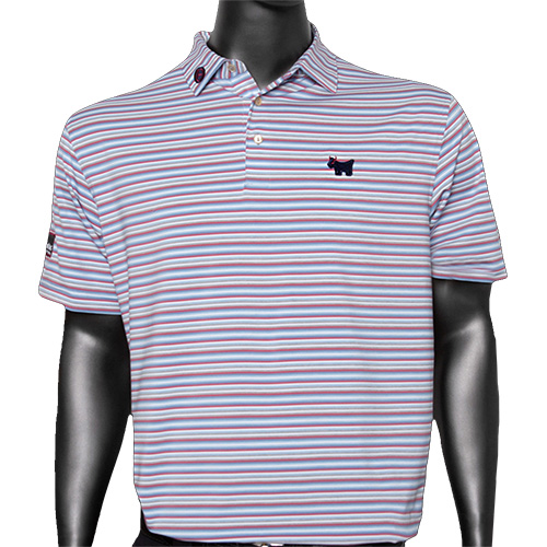 b16d20b7f Scottie Cameron 2018 short sleeves polo shirt Peter mirror Scottie bulldog  tour technique fabric valley stripe ...