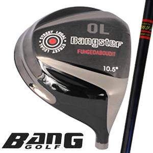 BANG(バン) Bangster (バンスター) OL 430 チタンドライバー(ロゴ無し)三菱レイヨン社製オリジナルブラックグラファイト【送料無料】