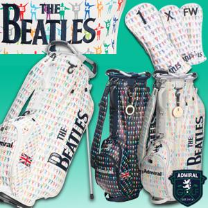 ビートルズ ゴルフ用品 【THE BEATLES】 スタンドバッグセット ヘッドカバー 3点付き 来日50周年記念モデル アドミラル ゴルフ ADMIRAL (ゴルフ用品 ゴルフバッグ ギフト キャディバッグ)
