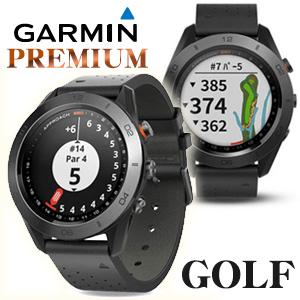 ガーミン ゴルフ s60 【高級モデル】アプローチS60 PREMIUM(ブラック) ゴルフナビ 高感度GPS (ウォッチタイプ) GARMIN Approach S60 プレミアム BLACK (GPS ナビ ゴルフ用品)【日本正規品】【父の日】