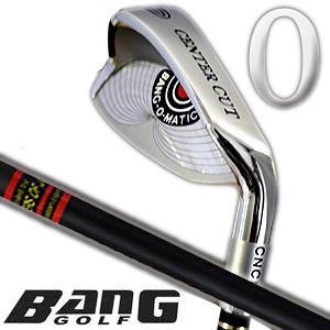BANG GOLF バンゴルフ 0番アイアン!(カーボンシャフト)(ロゴ無し)三菱レイヨン社製オリジナルブラックグラファイト【送料無料】