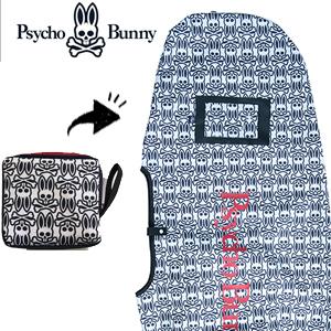 高い品質 サイコバニー ゴルフ 2018 Psycho PBMG8FE1 Psycho Bunny PB モノグラムES ゴルフ トラベルカバー PBMG8FE1 (ゴルフバッグ ゴルフ用品 ゴルフ トラベルケース), ティーエスパーツ:1bfb0742 --- clftranspo.dominiotemporario.com