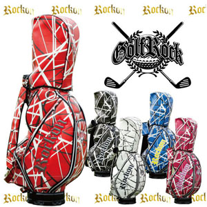 【Rock-on/ロックオン】 キャディバッグ カラー全5色( ゴルフバッグ ゴルフ用品 ゴルフ  )
