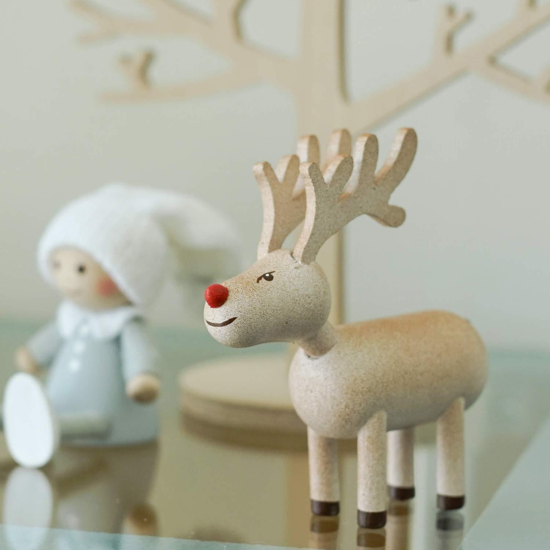 ノルディカ デザイン 2021 サンタ クリスマス 北欧 当店一番人気 ニッセ 在庫あり hd3664 NORDIKA 人形 ブラウン nisse トナカイ 2021年新作 10月下旬入荷予定
