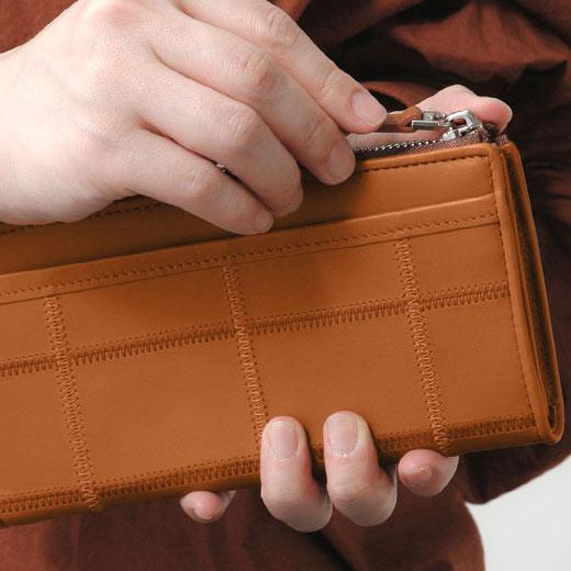 TRION トライオン ジッパー式長財布