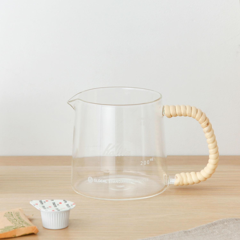 Kalita カリタ 当店限定販売 ガラス コーヒー サーバー ドリップ グローカルスタンダードプロダクツ GLOCAL hd3049 人気商品 STANDARD PRODUCTS コーヒーサーバー 400