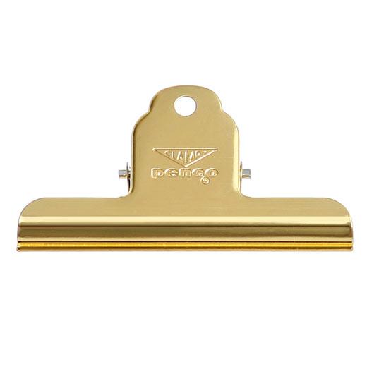 PENCO お金を節約 ペンコ 送料無料でお届けします クリップ アメリカ クリップボード クランピークリップ dp144 penco ゴールド 文房具 ペーパークリップ 袋留め M シンプル プチギフト かわいい おしゃれ