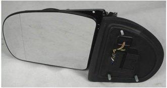 【送料無料】ベンツ W203 前期用 ドアミラー ASSY 左片側(直結型)
