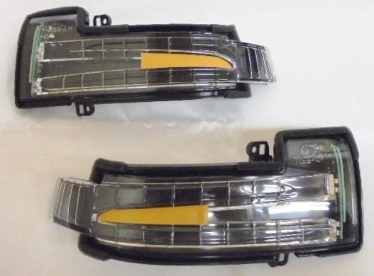 【送料無料】ベンツ W164/X164/W166/X166/W463/W251 ドアミラー LEDウインカー 左右セット