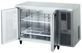 【新品・送料無料・代引不可】ホシザキ業務用ワイドスルーコールドテーブル冷蔵庫(右ユニットタイプ)RT-120SDF-RML(旧RT-120SDE-RML) [幅1200×奥行750×高さ800]
