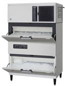 【新品・送料無料・代引不可】ホシザキ キューブアイスメーカースタックオンタイプ(セル方式) IM-180DM-STCR [W1080×D710×H1727mm]