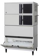 【新品・送料無料・代引不可】ホシザキ キューブアイスメーカースタックオンタイプ(セル方式) IM-460DM-STN [W1080×D710×H1835mm]
