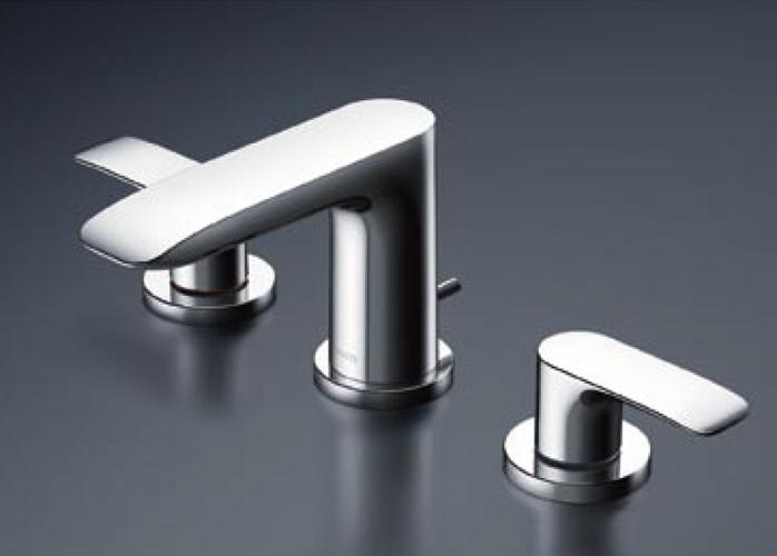 【送料無料】TOTO 洗面器用2ハンドル混合水栓GAシリーズ TLG04201J