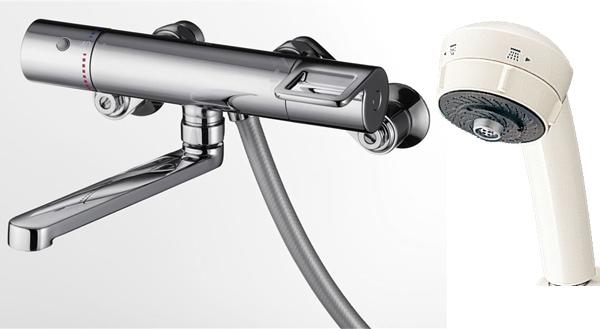 TOTO サーモスタットシャワー水栓 [ワンダービートシャワー]TMGG40J(旧TMHG40JR)水道 蛇口 お風呂 温度調節
