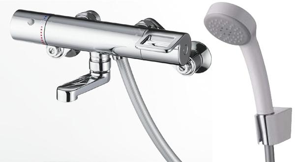 TOTO サーモスタットシャワー水栓[エアインシャワー・スパウト長さ70mm]TMGG40SER水道 蛇口 お風呂 温度調節