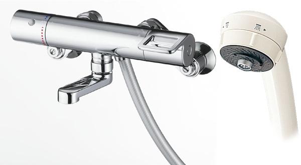 TOTO サーモスタットシャワー水栓[ワンダービートシャワー・スパウト長さ70mm]TMGG40SJ(旧TMHG40SJ)水道 蛇口 お風呂 温度調節