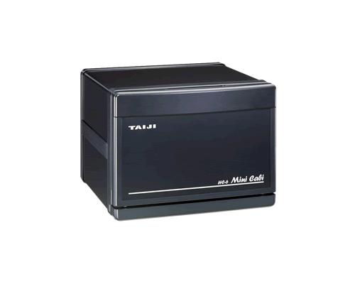 【新品・送料無料・代引不可】TAIJI タイジ(タオルウォーマー・タオル蒸し器)ミニキャビシリーズ スタイリッシュタイプHC-6(K) 【ブラック/ブラック】
